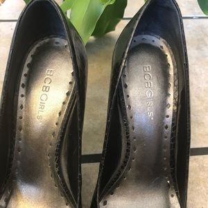 BCBGirls Shoes - BCBGirls Snake Pumps